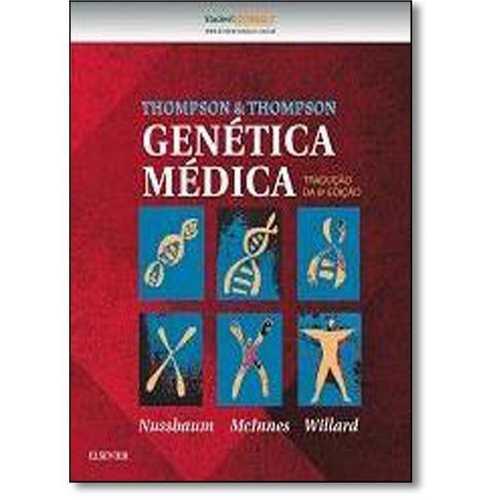 Livro Thompson & Thompson Genética Médica  - LIVRARIA ODONTOMEDI