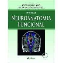 Livro Neuroanatomia Funcional - 3a. Edição  - LIVRARIA ODONTOMEDI