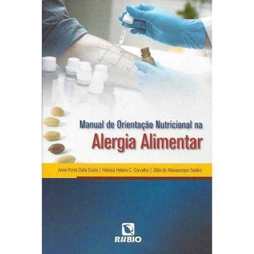 Livro Manual De Orientação Nutricional Na Alergia Alimentar  - LIVRARIA ODONTOMEDI