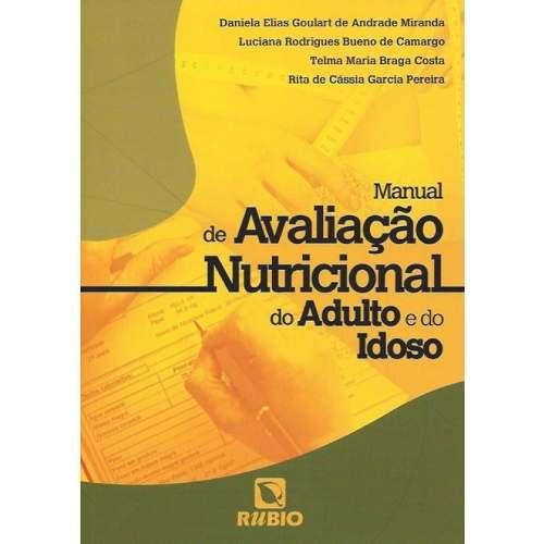 Livro Manual De Avaliação Nutricional Do Adulto E Do Idoso  - LIVRARIA ODONTOMEDI