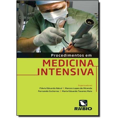 Livro Procedimentos Em Medicina Intensiva  - LIVRARIA ODONTOMEDI