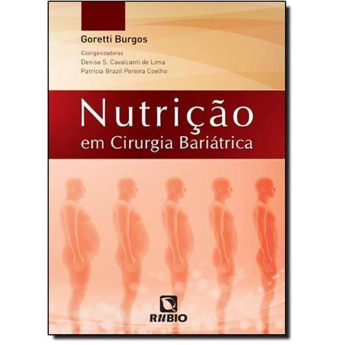Livro Nutrição Em Cirurgia Bariátrica  - LIVRARIA ODONTOMEDI