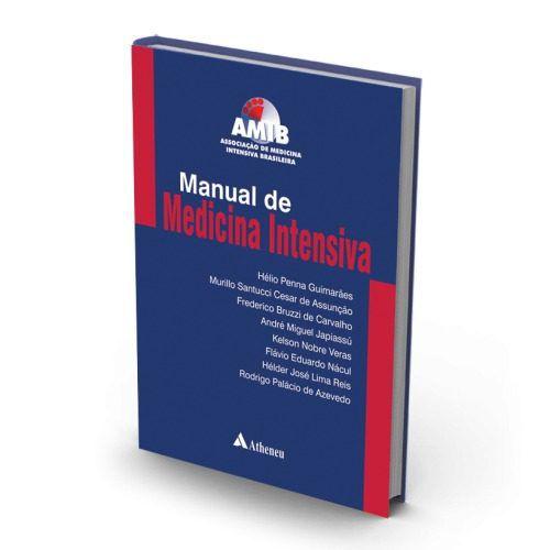 Livro Manual De Medicina Intensiva - Amib  - LIVRARIA ODONTOMEDI