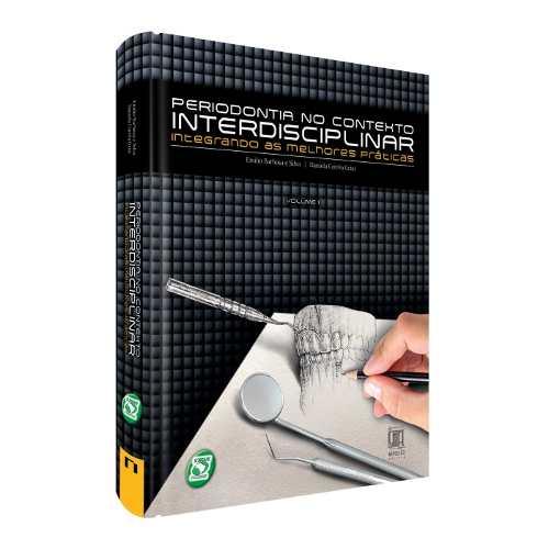 Livro Periodontia No Contexto Interdisciplinar Vol.1  - LIVRARIA ODONTOMEDI