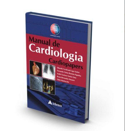 Livro Manual De Cardiologia Cardiopapers  - LIVRARIA ODONTOMEDI