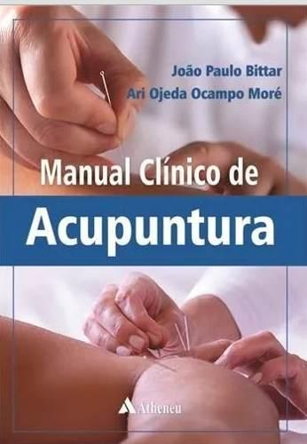 Livro Manual Clínico De Acupuntura  - LIVRARIA ODONTOMEDI
