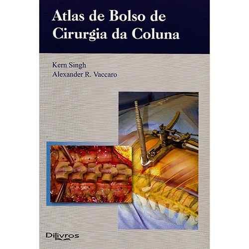 Livro Atlas De Bolso De Cirurgia Da Coluna  - LIVRARIA ODONTOMEDI