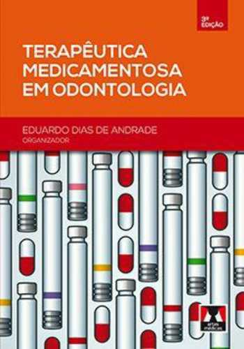 Livro Terapêutica Medicamentosa Em Odontologia  - LIVRARIA ODONTOMEDI
