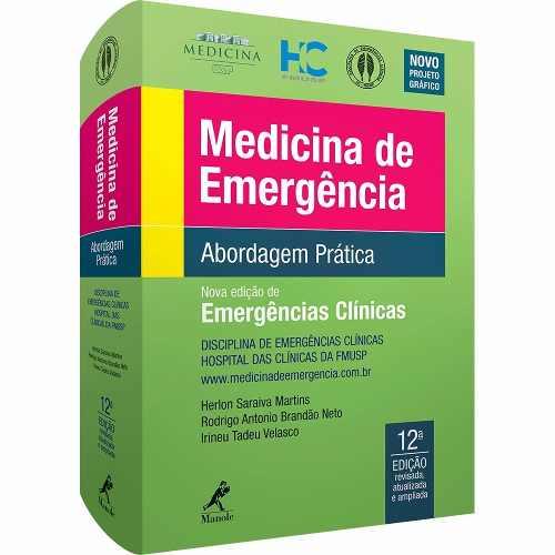 Livro Medicina De Emergência Abordagem Prática 12ª Edição  - LIVRARIA ODONTOMEDI