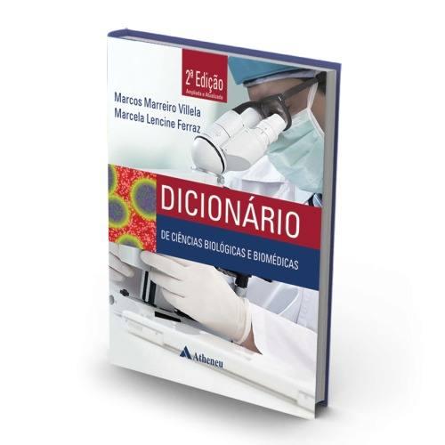 Livro Dicionário De Ciências Biológicas E Biomédicas - 2a. Edição  - LIVRARIA ODONTOMEDI