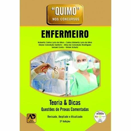 Livro - Quimo - Enfermeiro (com Cd-rom) Novo  - LIVRARIA ODONTOMEDI