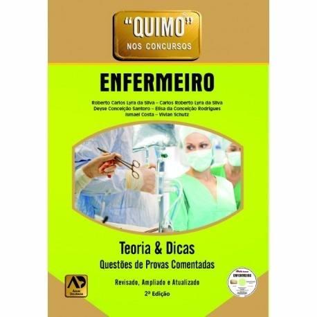 Livro Quimo - Enfermeiro (Com Cd-Rom) Novo  - LIVRARIA ODONTOMEDI
