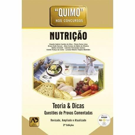 Livro Quimo Nutrição Teoria & Dicas+Cd- Ed Águia Dourada  - LIVRARIA ODONTOMEDI