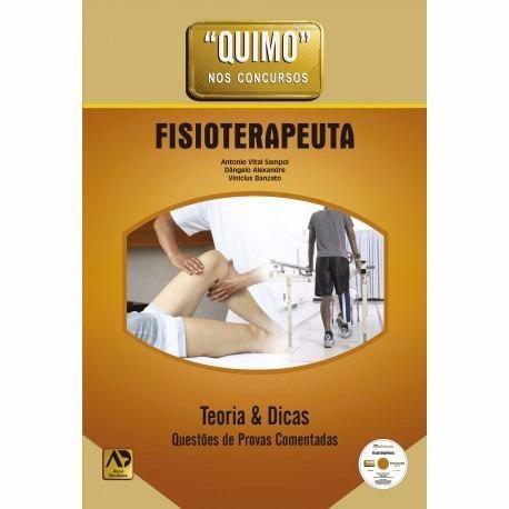 Livro Quimo Fisioterapeuta - Sampol Com Dvd Lacrado  - LIVRARIA ODONTOMEDI