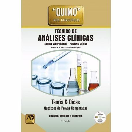 Livro Quimo Técnico Em Análises Clínicas Jenner K. P. Reis  - LIVRARIA ODONTOMEDI