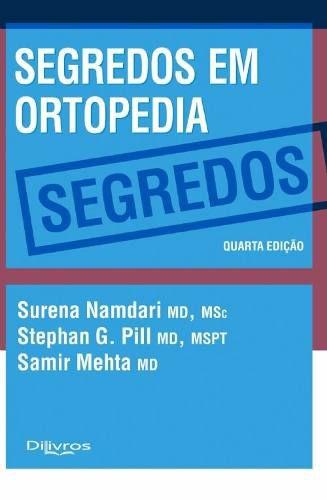 Livro Segredos Em Ortopedia  - LIVRARIA ODONTOMEDI