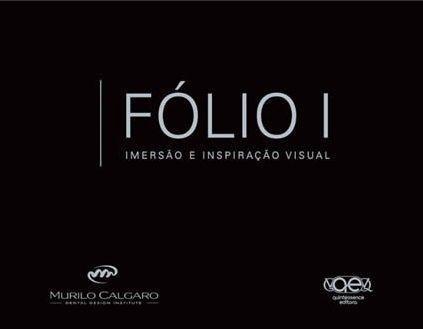 Livro Folio I - Imersao E Inspiraçao Visual  - LIVRARIA ODONTOMEDI