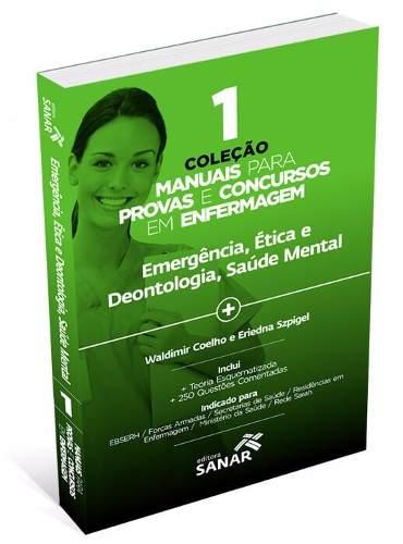 Livro Manuais Para Provas E Concursos Em Enfermagem V1 - Sanar  - LIVRARIA ODONTOMEDI