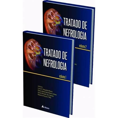 Livro Tratado De Nefrologia 2 Vols Sbn Moura  - LIVRARIA ODONTOMEDI