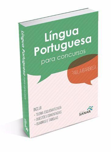Livro Língua Portuguesa Para Concursos (com Foco Na Saúde)  - LIVRARIA ODONTOMEDI