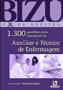 Livro Bizu - Auxiliar E Técnico De Enfermagem - 1.300 Questões  - LIVRARIA ODONTOMEDI