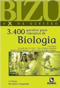 Livro Bizu 3.400 Questões Para Concursos De Biologia  - LIVRARIA ODONTOMEDI