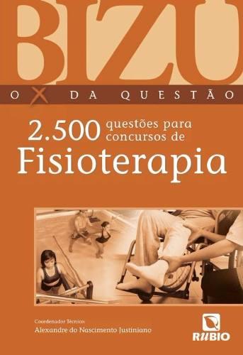 Livro Bizu Fisioterapia - 2.500 Questões Para Concursos  - LIVRARIA ODONTOMEDI