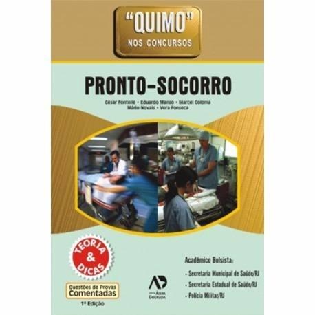 Livro Quimo Pronto Socorro Nos Concursos - Fontelle  - LIVRARIA ODONTOMEDI