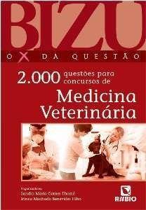 Livro Bizu De Medicina Veterinária - 2000 Questões - Novo  - LIVRARIA ODONTOMEDI