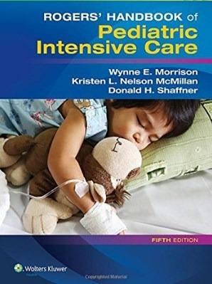 Livro Rogers Handbook Of Pediatric Intensive Care  - LIVRARIA ODONTOMEDI