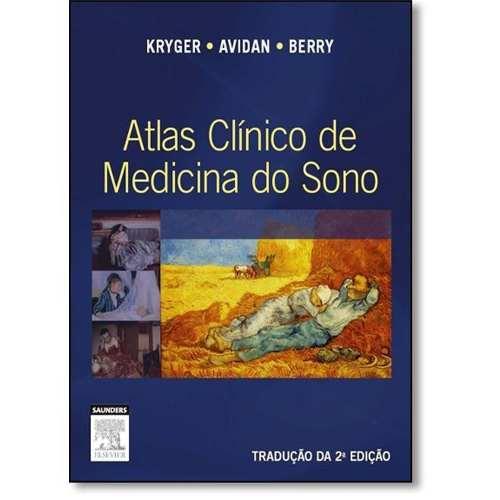 Livro Atlas Clínico De Medicina Do Sono  - LIVRARIA ODONTOMEDI