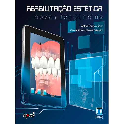 Livro Reabilitação Estética: Novas Tendências  - LIVRARIA ODONTOMEDI