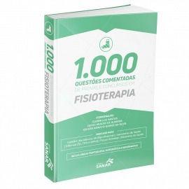 1000 Questões Coment De Provas E Conc Em Fisioterapia  - LIVRARIA ODONTOMEDI