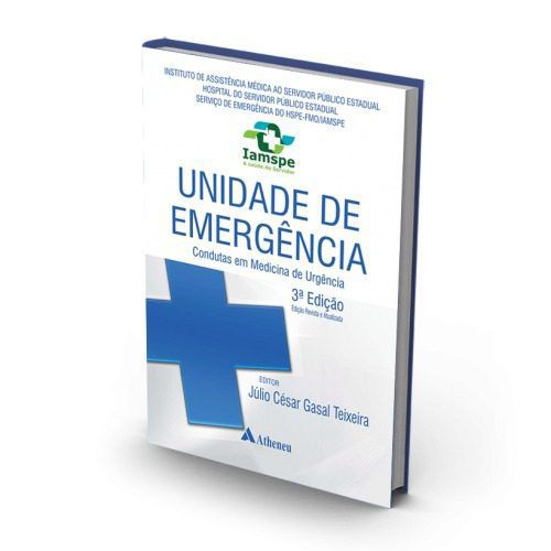 Livro Unidade De Emergência - Condutas Em Medicina De Urgência 3  - LIVRARIA ODONTOMEDI