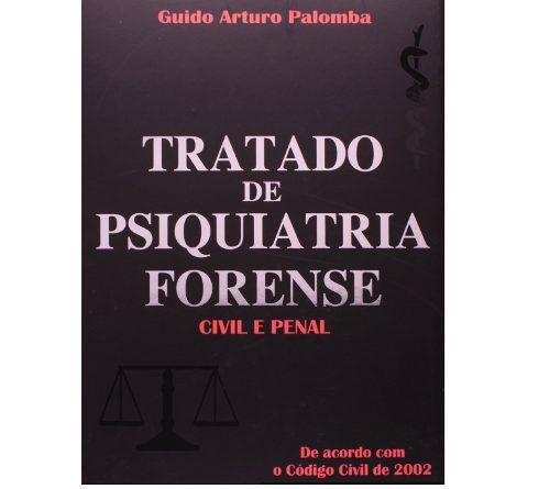 Livro Tratado De Psiquiatria Forense Civil E Penal  - LIVRARIA ODONTOMEDI