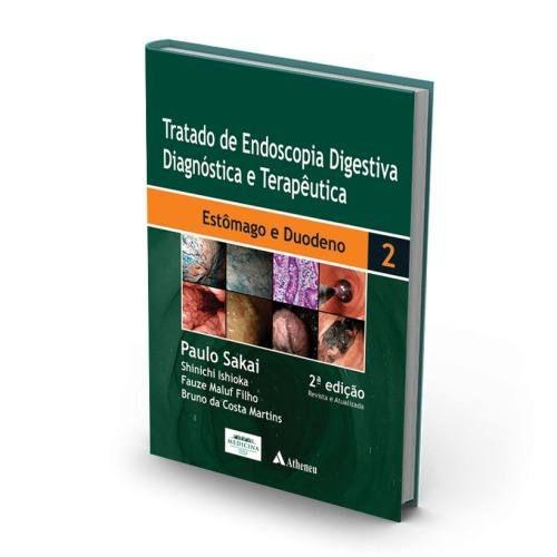 Livro Tratado De Endoscopia Digestiva Diagnóstica E Terapêutica -V  - LIVRARIA ODONTOMEDI