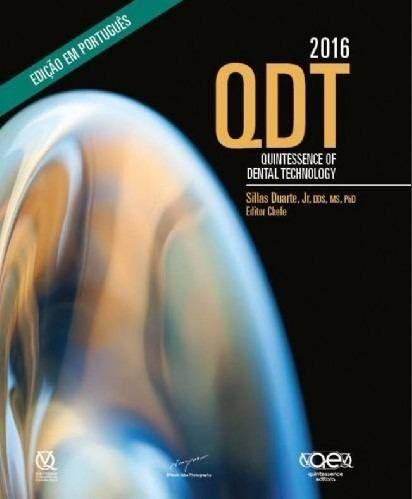 Livro Qdt 2016 Quintessene Of Dental Technology - Portugues  - LIVRARIA ODONTOMEDI