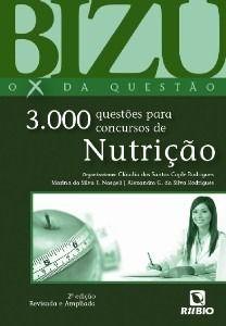 Livro Bizu 3000 Questões Para Concursos De Nutrição  - LIVRARIA ODONTOMEDI