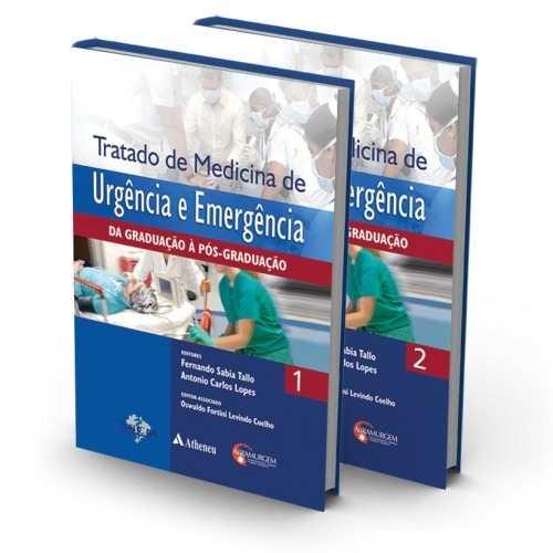 Livro Tratado De Medicina De Urgência E Emergência  - LIVRARIA ODONTOMEDI