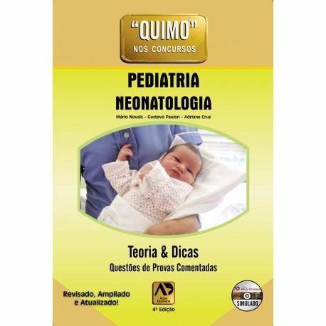 Livro Quimo Pediatria E Neonatologia Mário Novais + Dvd-rom  - LIVRARIA ODONTOMEDI