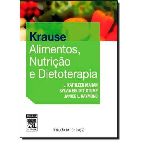 Livro Krause Alimentos, Nutrição E Dietoterapia  - LIVRARIA ODONTOMEDI