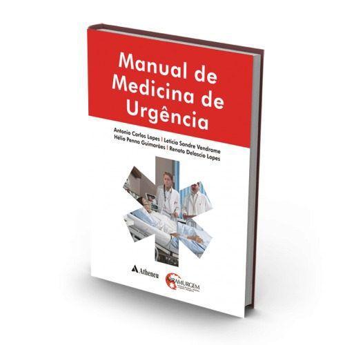 Livro Manual De Medicina De Urgência  - LIVRARIA ODONTOMEDI