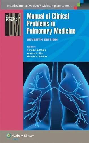 Livro Manual Of Clinical Problems In Pulmonary Medicine  - LIVRARIA ODONTOMEDI