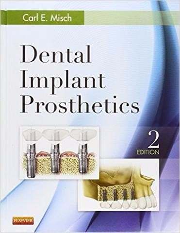 Livro Dental Implant Prosthetics, 2ed. Em Ingês  - LIVRARIA ODONTOMEDI