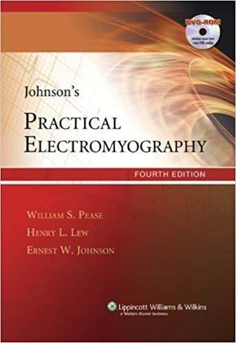 Livro Johnsons Practical Electromyography  - LIVRARIA ODONTOMEDI