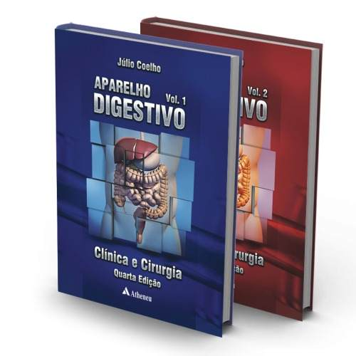 Livro Aparelho Digestivo 4a. Edição - Vol. I E Ii  - LIVRARIA ODONTOMEDI