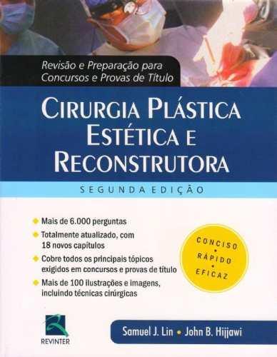 Cirurgia Plástica Estética E Reconstrutora Revisão  - LIVRARIA ODONTOMEDI