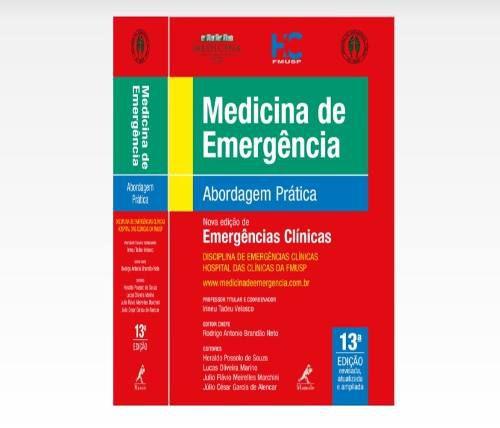Livro Medicina De Emergência Abordagem Prática 13ª Edição  - LIVRARIA ODONTOMEDI
