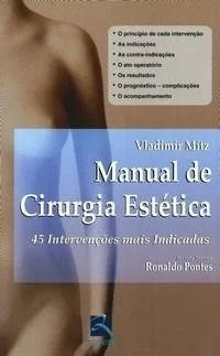 Livro Manual De Cirurgia Estética  - LIVRARIA ODONTOMEDI