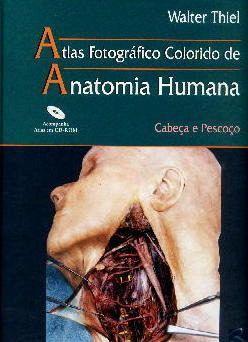 Livro Atlas Fotográfico Colorido De Anatomia Humana  - LIVRARIA ODONTOMEDI